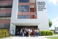 As visitas ocorreram no mês de abril e foram coordenadas pela professora Lebiam Silva (DHP/CE) e professor Swamy Soares (DFE/CE).