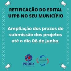 UFPB no seu Município